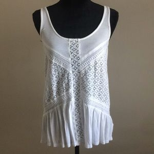 Women's top American Eagle outfitters Sz M White